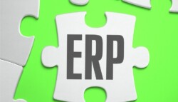ERP 20 20 Enterprise 20 Resource 20 Planning 20 20 Jigsaw 20 Puzzle 20with 20 Missing 20 Pieces 20 Bright 20 Green 20 Background 20 Close up 203d 20 Illustration
