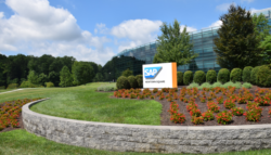 Landscape in front of SAP North American Headquarters