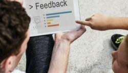 Students provide feedback via tablet