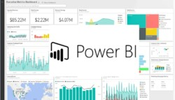 Microsoft Power BI Executive Metricswith 20logo