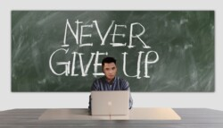 Nevergiveup Chalkboard
