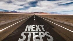 Next 20 Steps 20written 20on 20desert 20road