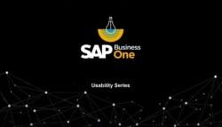 SAP 20 Business 20 One 20usability