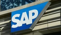 SAP sign on SAP building