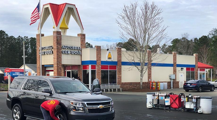 Autobell Car Wash location in Waxhaw, NC