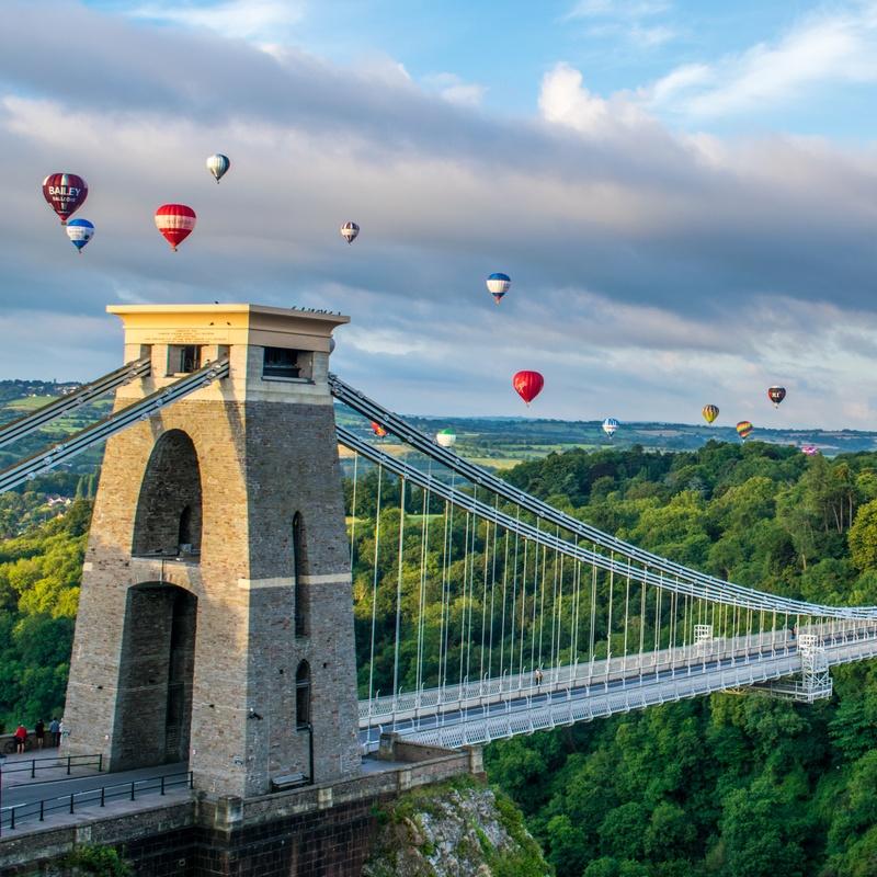 Micro Turbine powered communications at the Bristol Hot Air Balloon Festival