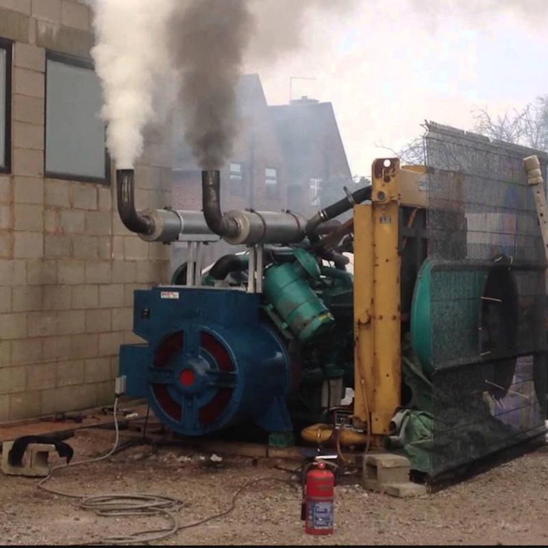 We're reinventing the diesel genset
