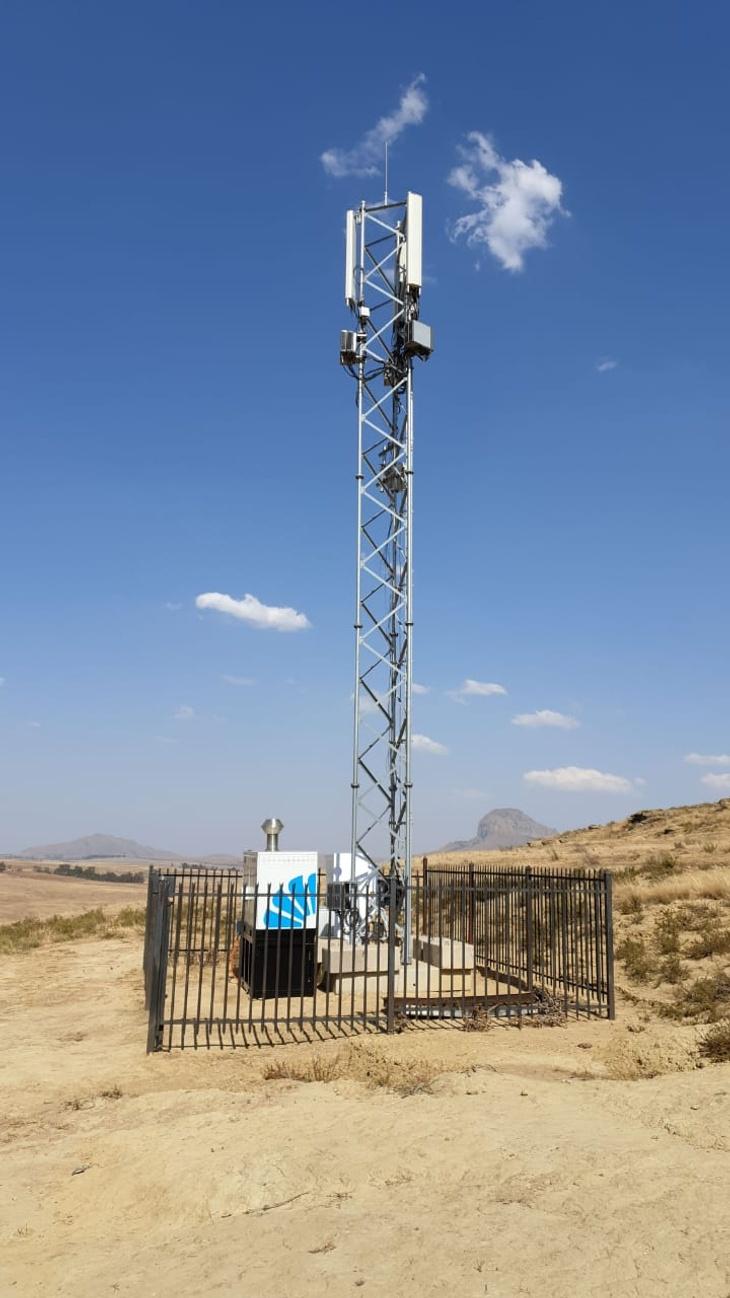 Bladon Micro Turbine Genset at off-grid telecom site