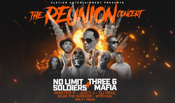 The Reunion Concert with No Limit Soldiers & Three 6 Mafia - CANCELED