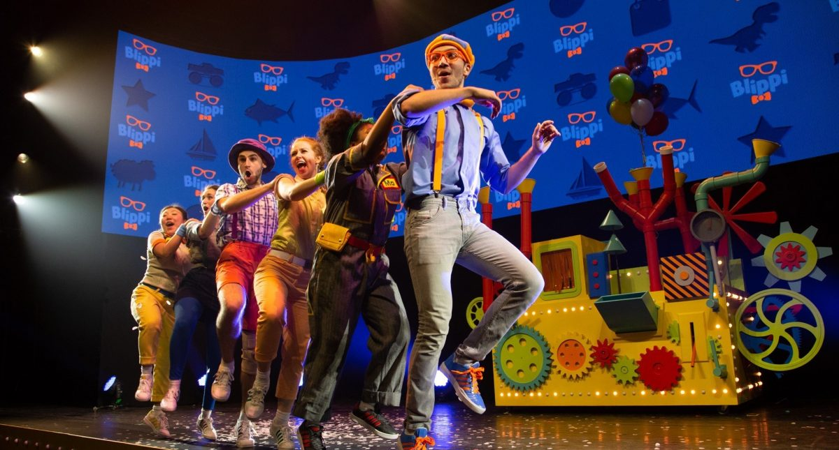 Blippi The Musical Hero Image