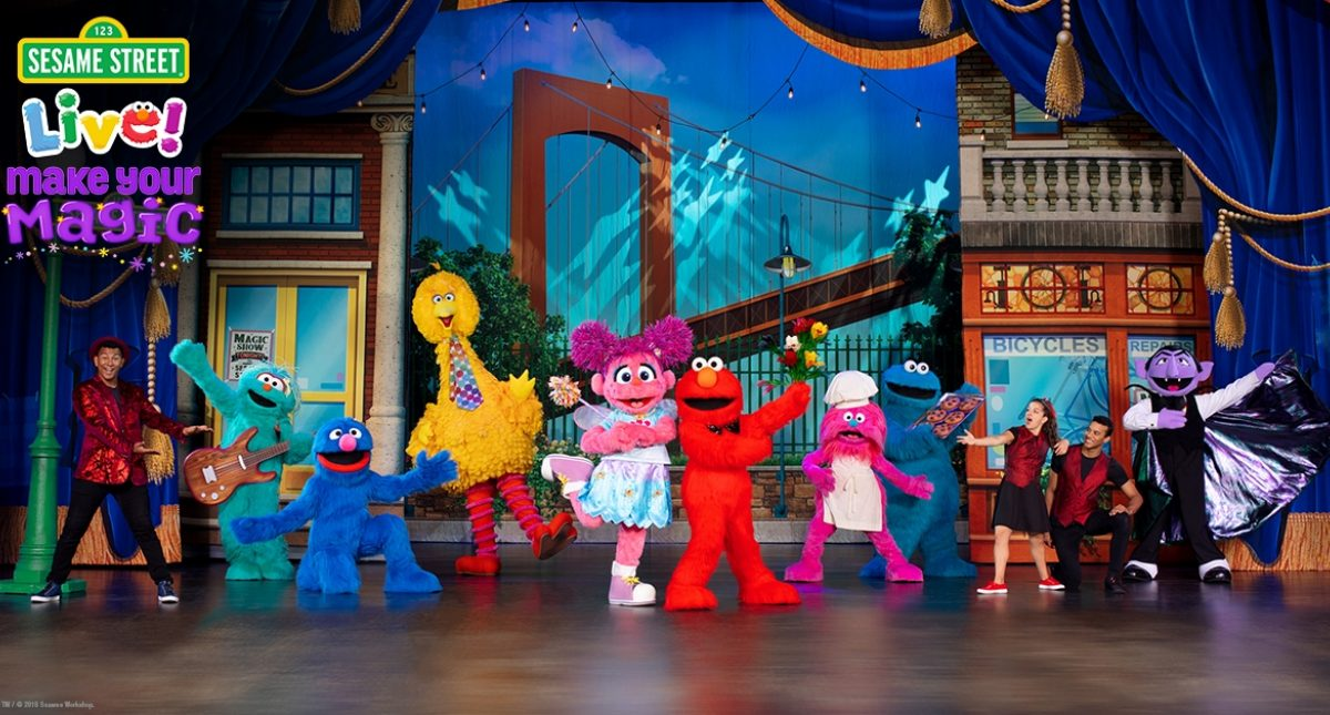 Sesame Street Live! Make Your Magic Hero Image
