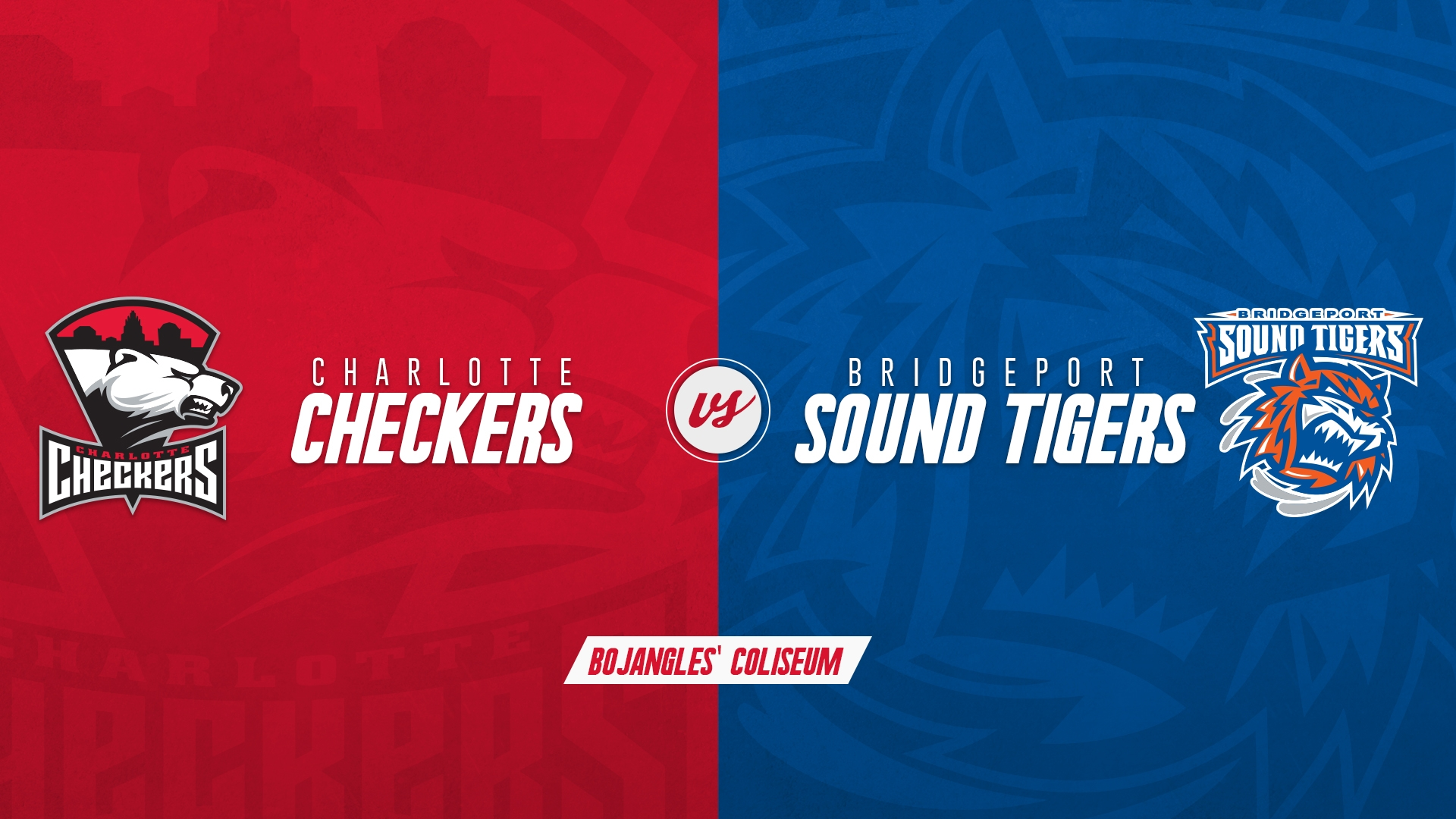 Charlotte Checkers vs. Bridgeport Sound Tigers