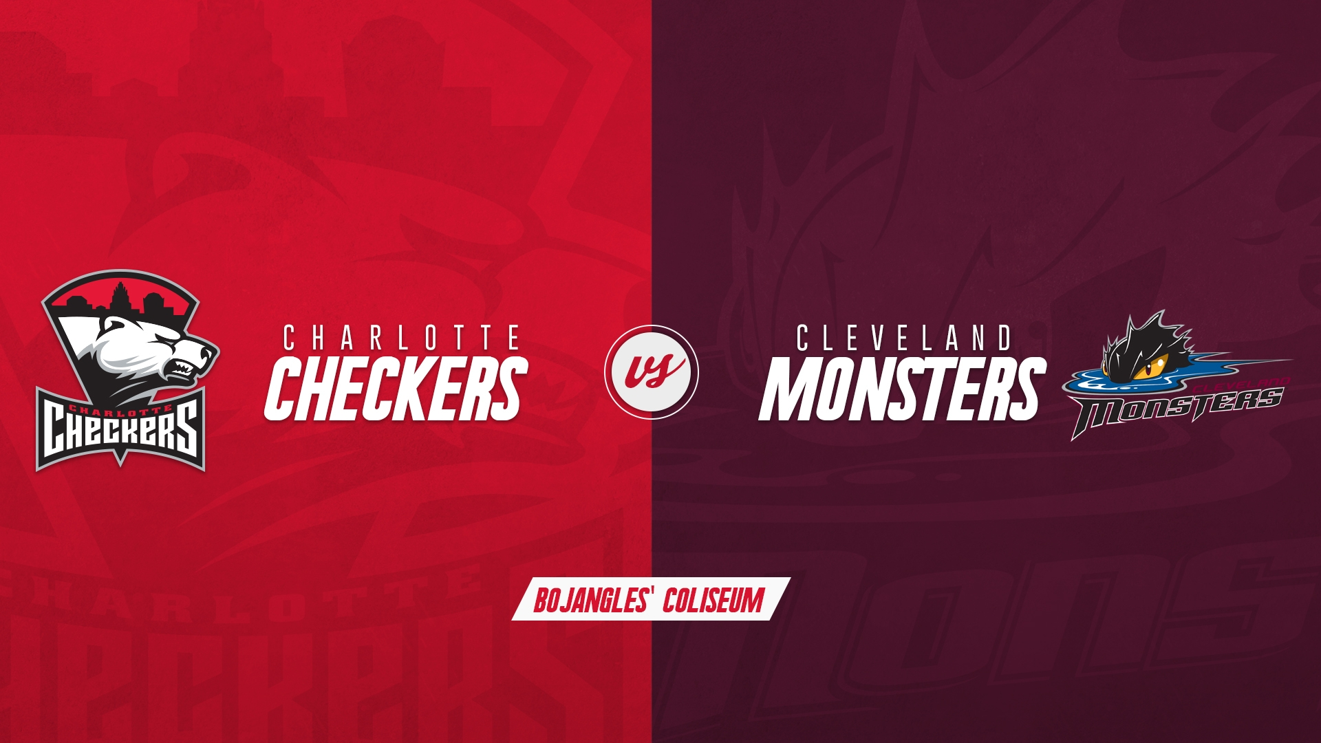 Charlotte Checkers vs. Cleveland Monsters