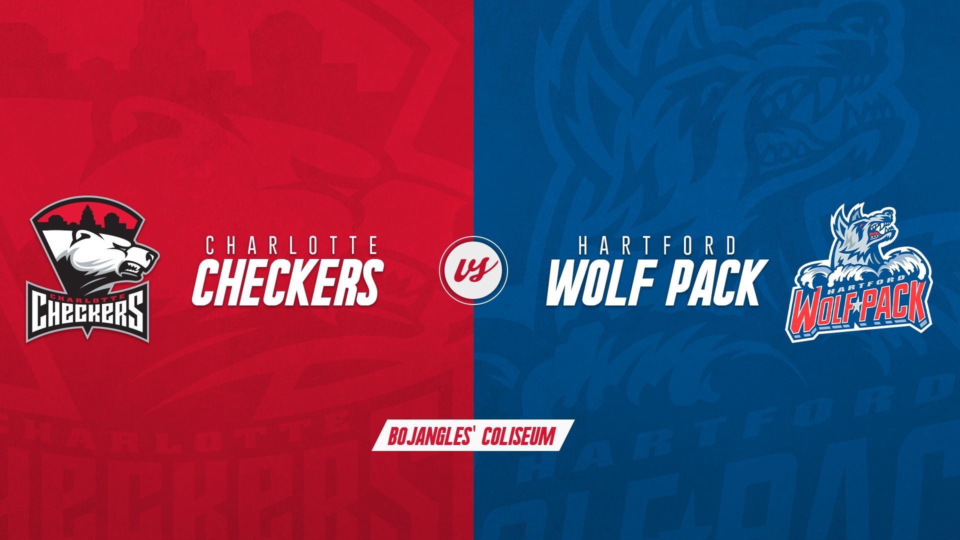 Charlotte Checkers vs. Hartford Wolf Pack