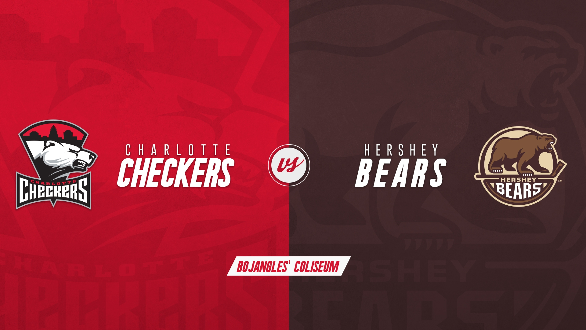 Charlotte Checkers vs. Hershey Bears - SUSPENDED