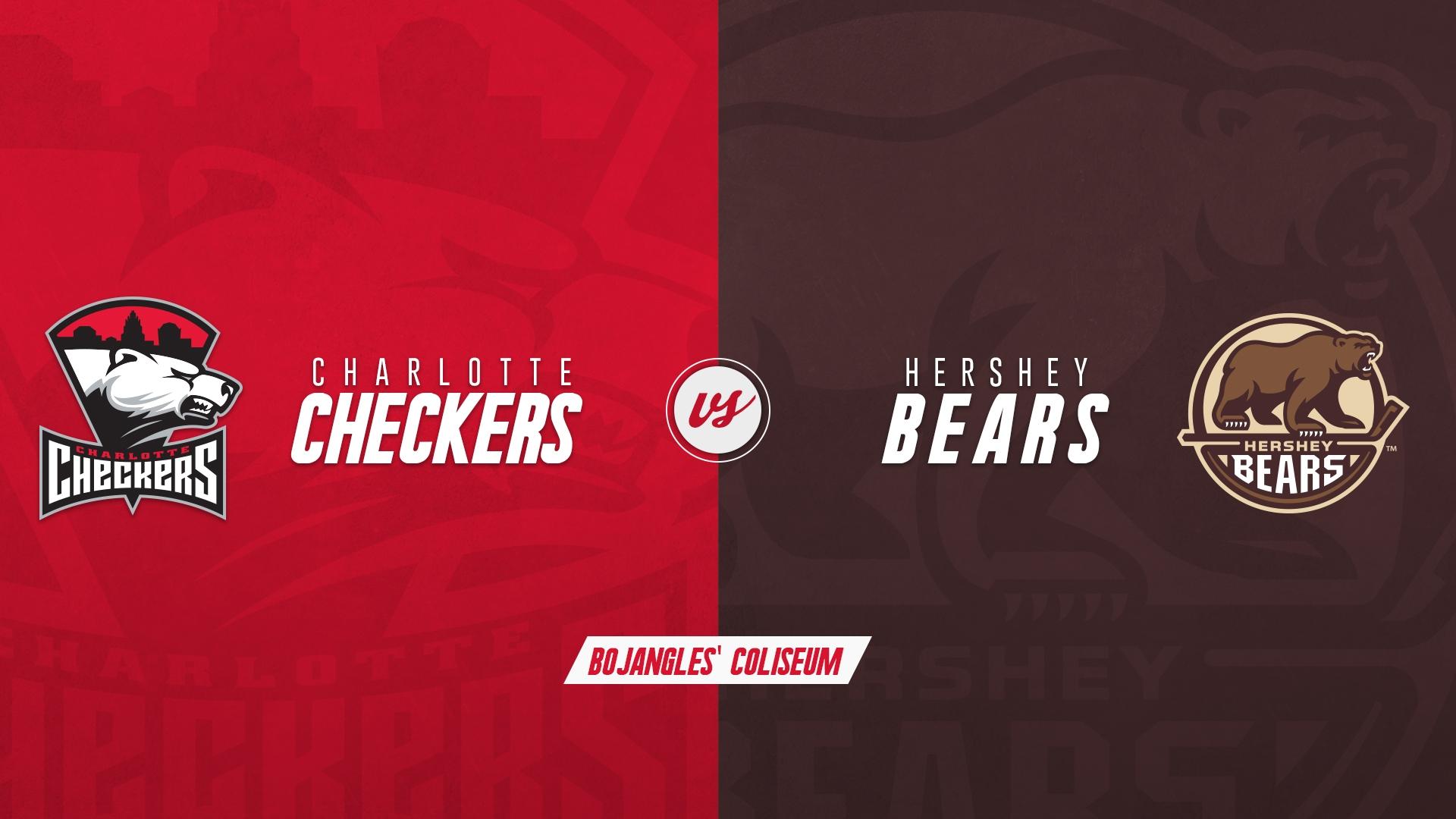 Charlotte Checkers vs. Hershey Bears - SUSPENDED