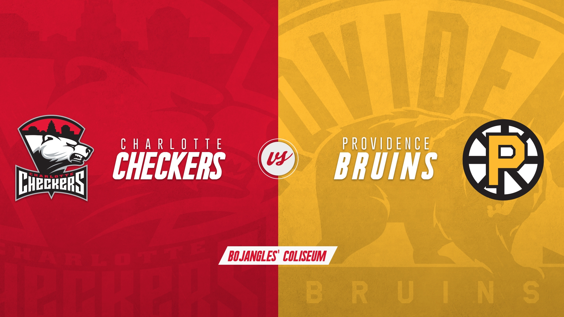 Charlotte Checkers vs. Providence Bruins