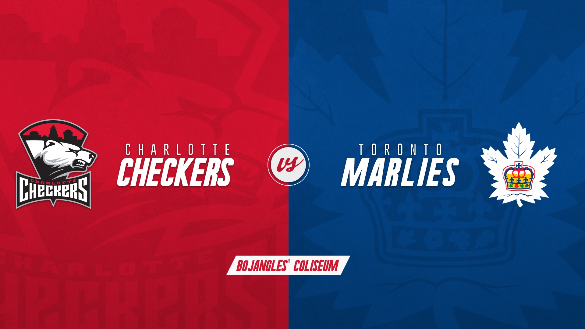 Charlotte Checkers vs. Toronto Marlies