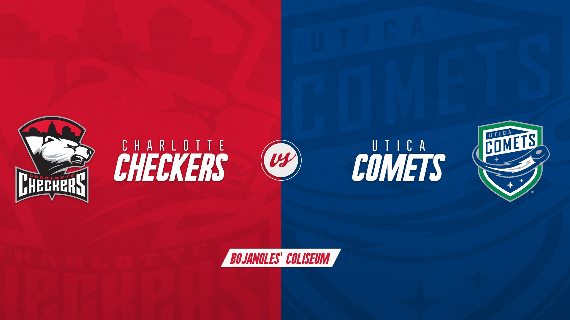 Charlotte Checkers vs. Utica Comets