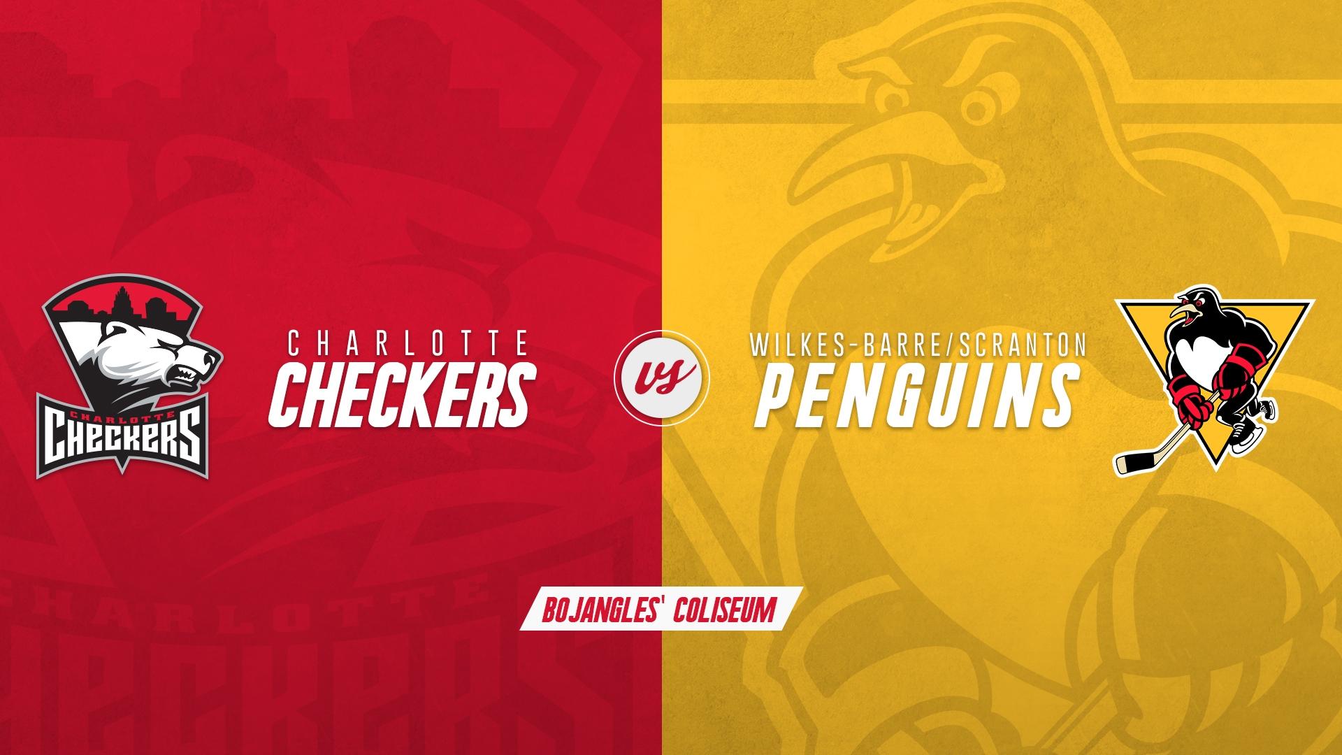 Charlotte Checkers vs. Wilkes Barre Scranton Penguins
