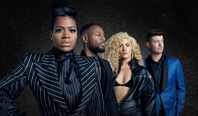 Fantasia w/Robin Thicke, Tank & The Bonfyre