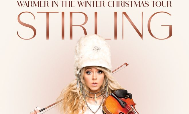Lindsey Stirling Christmas Album.Lindsey Stirling Warmer In The Winter Christmas Tour 2019