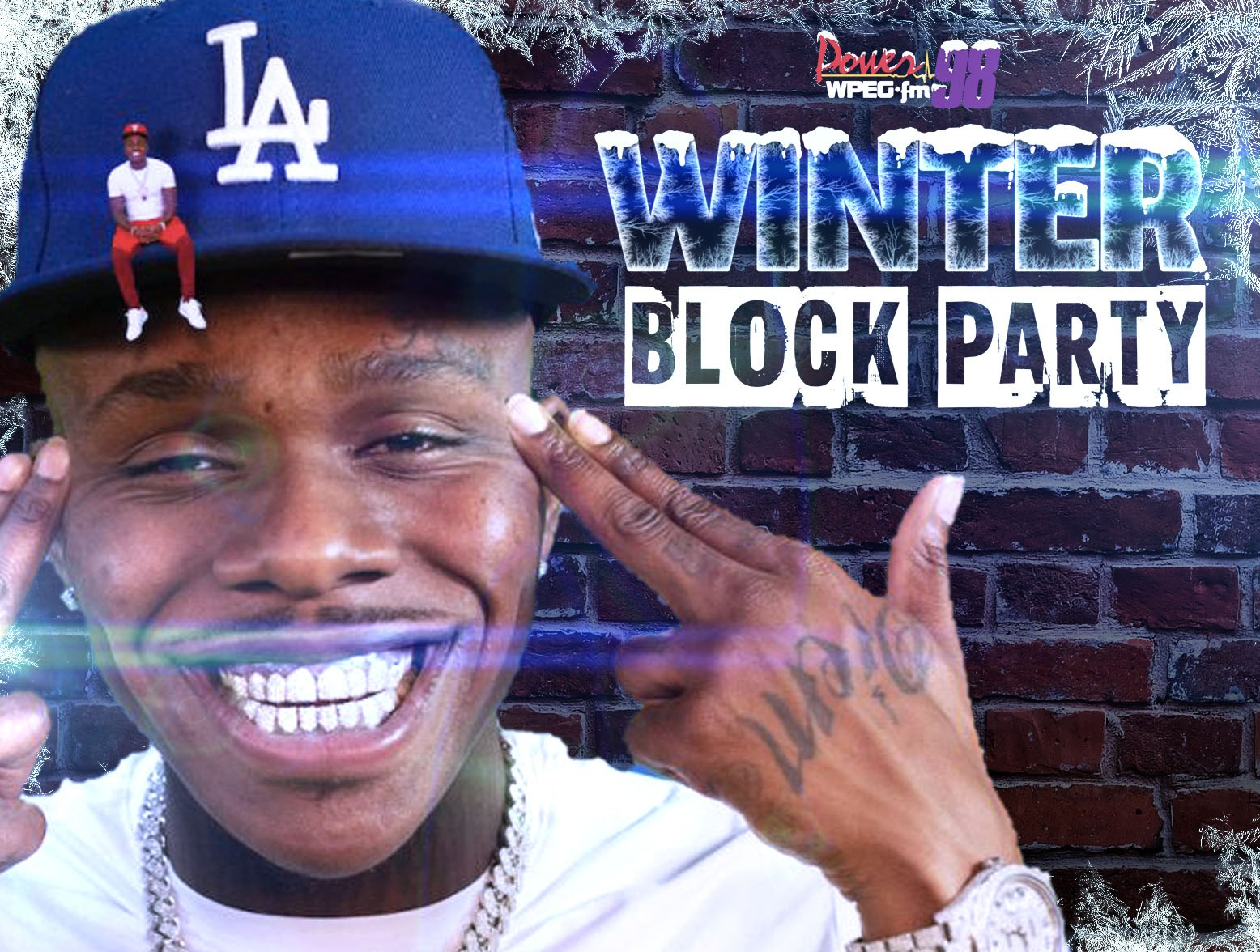 Power 98 Winter Block Party feat. DaBaby