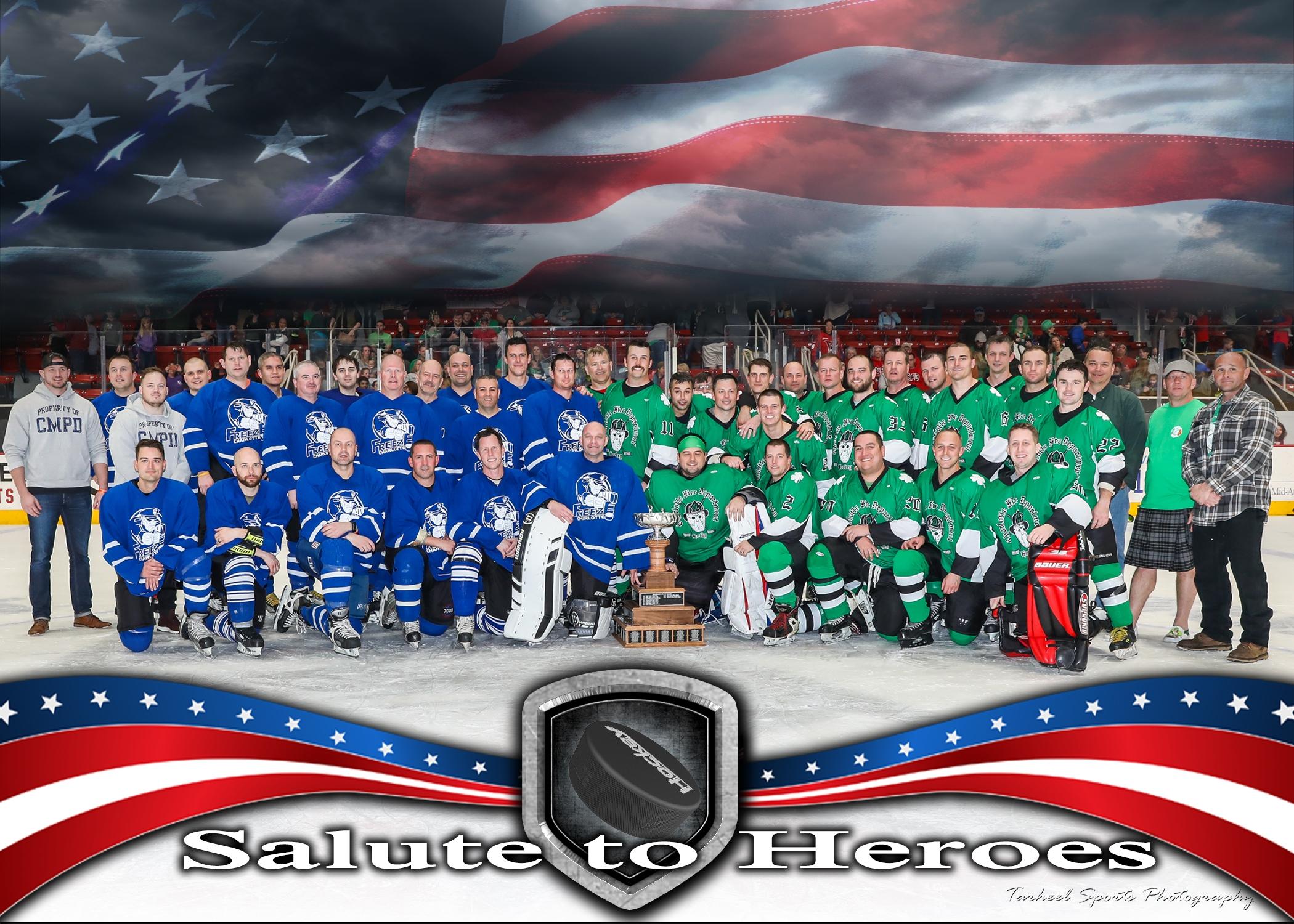Salute to Heroes Hockey - POSTPONED