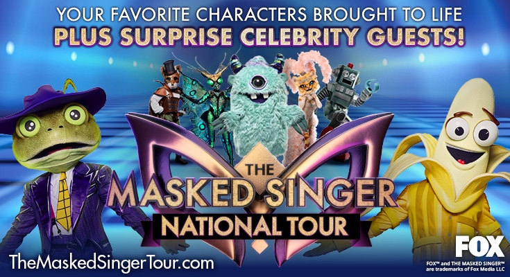 The Masked Singer National Tour - RESCHEDULED