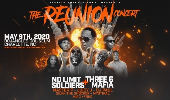 The Reunion Concert with No Limit Soldiers & Three 6 Mafia - RESCHEDULED