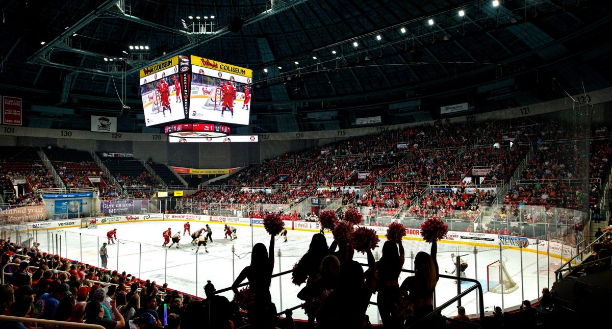 Charlotte Checkers vs. Springfield Thunderbirds Hero Image