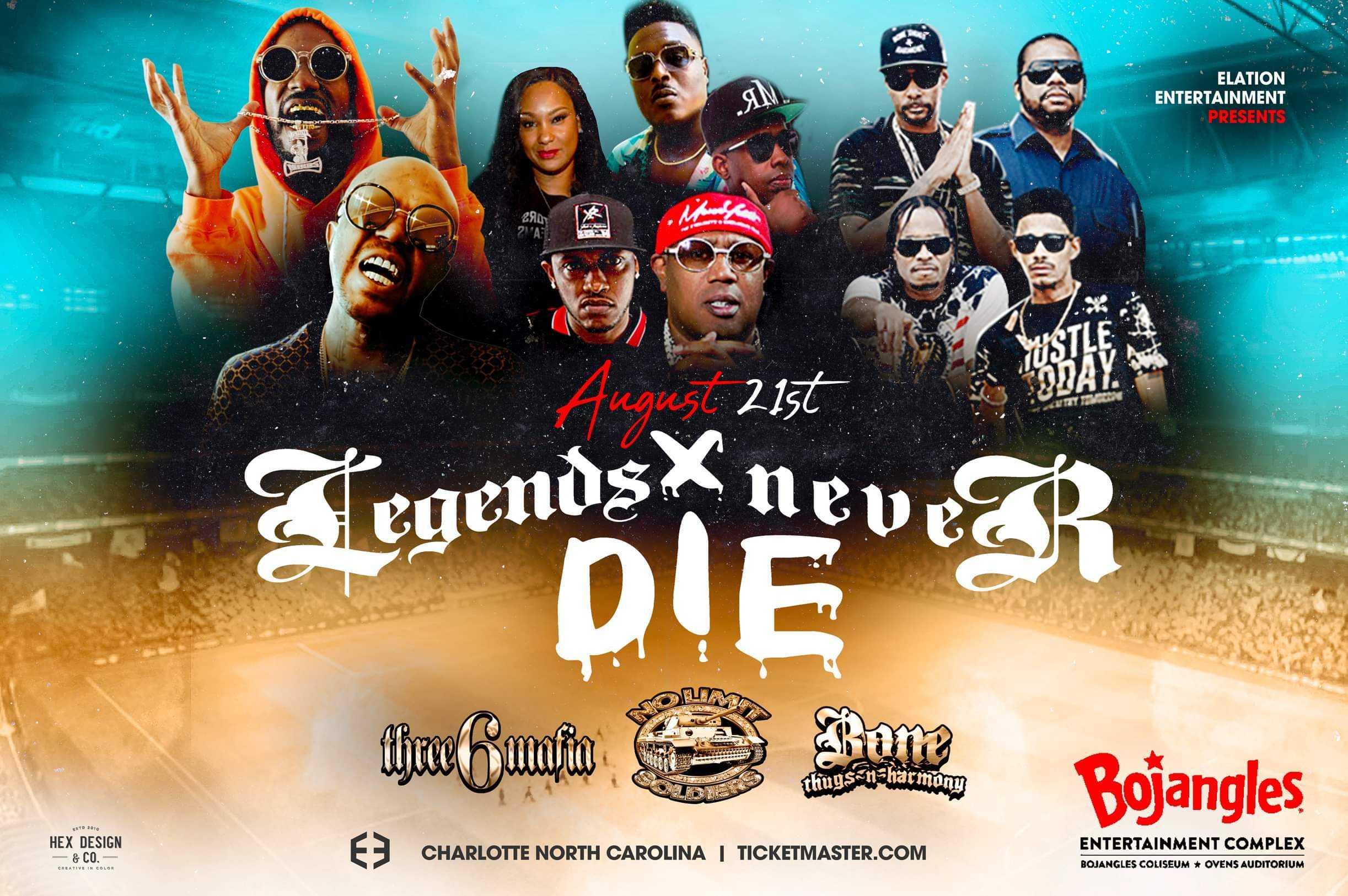 Elation Entertainment presents Legends Never Die (Canceled)