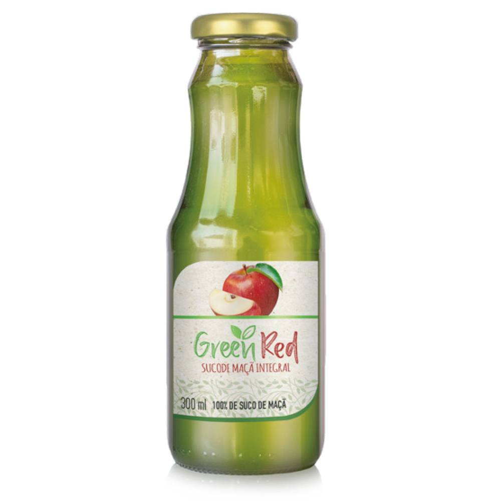 Green Red Suco de Maça Integral 300ml