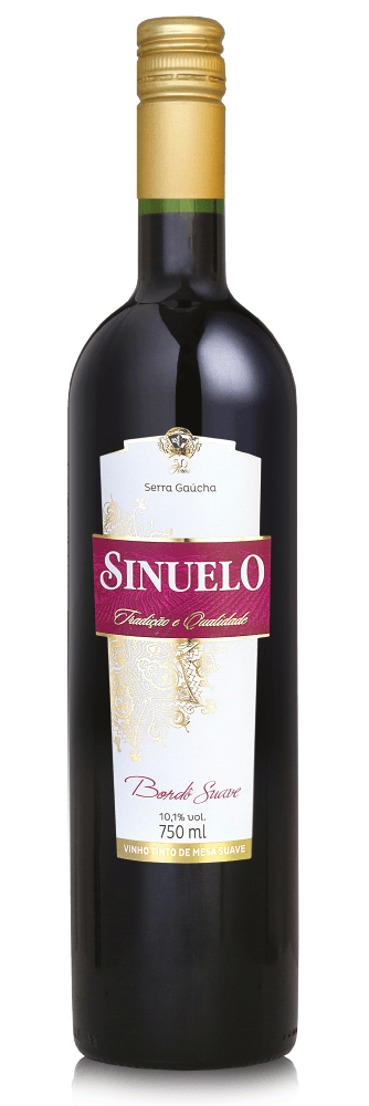 Sinuelo Bordô Suave 750ml