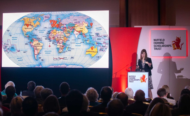 Caroline Mitchell at Nuffield Annual Conference