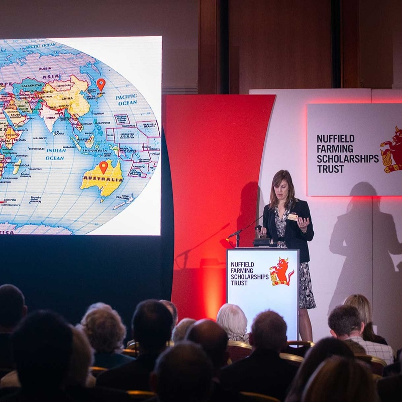Nuffield Scholar presents report to annual conference