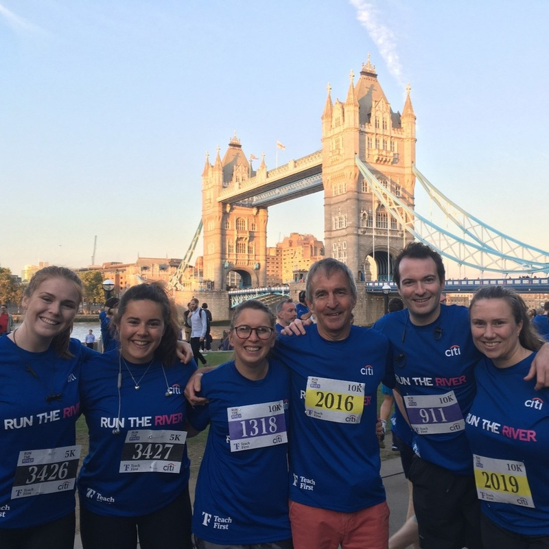Running the river for Teach First charity