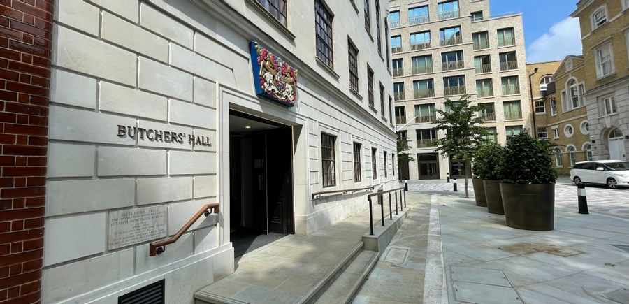 Hire Butchers' Hall for your event in the City of London