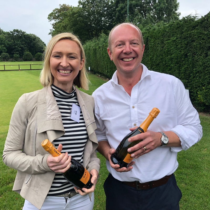 Butchers show their class on the croquet lawn