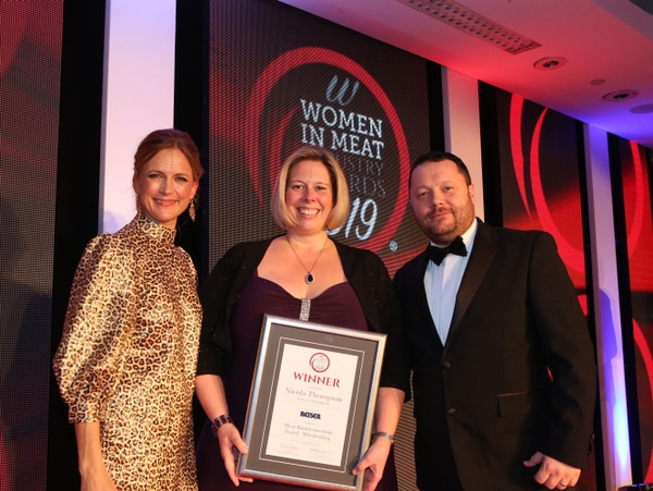 Nicola Thompson Women in Meat Industry Awards 2019