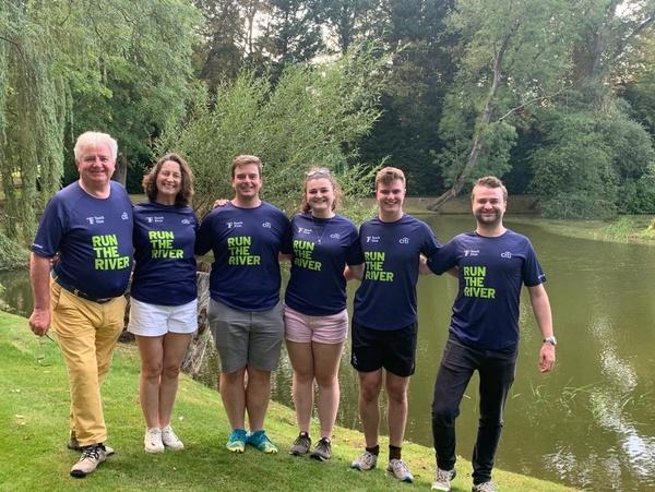Worshipful Company of Butchers Teach First Run The River Team 2020