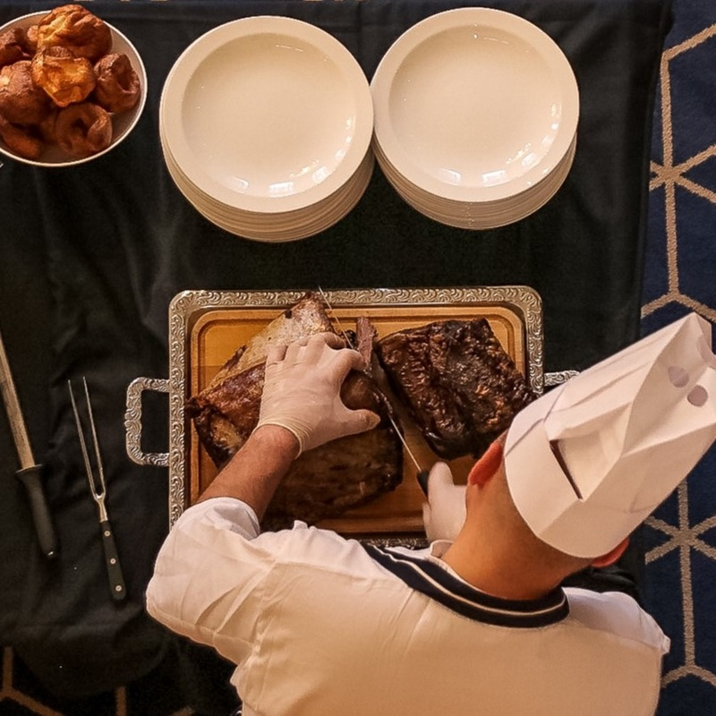 Roast beef the star attraction as Butchers' Carvery Lunch returns