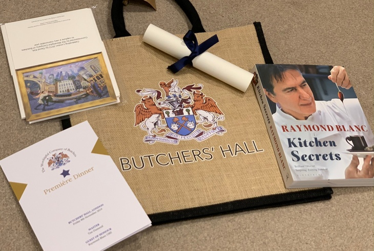 Butchers' Hall Premiere Dinner Gift Bag