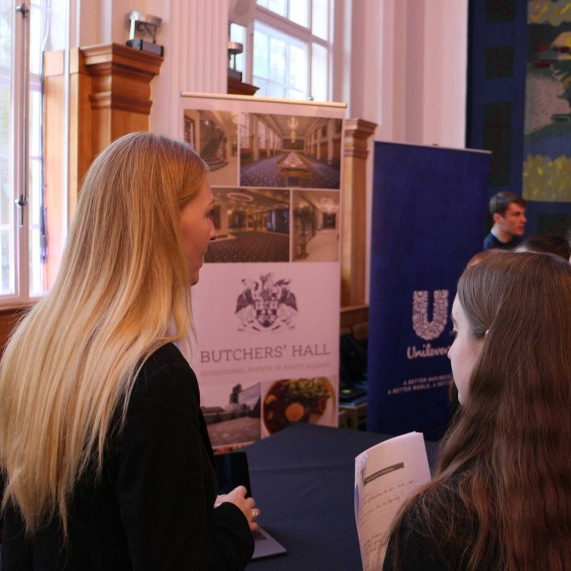 Teach First Careers Expo at Butchers' Hall a big success
