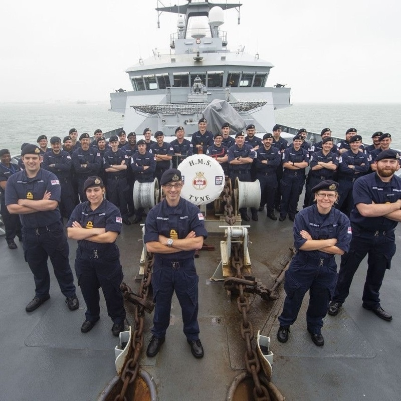 'Never been busier': a report from HMS Tyne