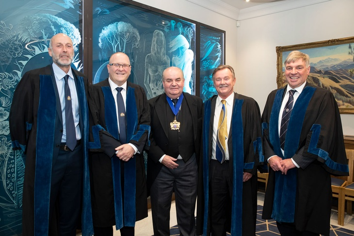 New Butchers' Liverymen at October 2019 Court Luncheon