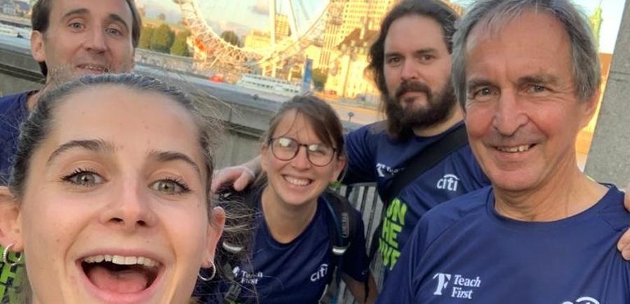 Charity Run The River Teach First 2020
