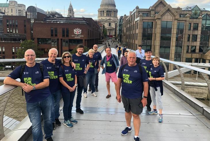 WCB Teach First Run The River Team