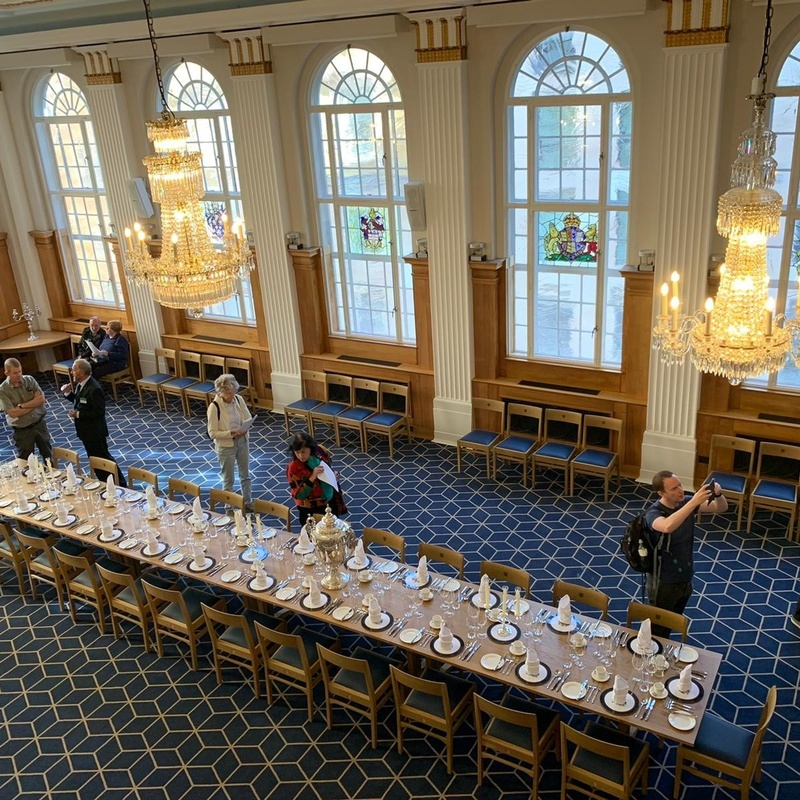 Hundreds flock to Butchers' Hall for Open House weekend