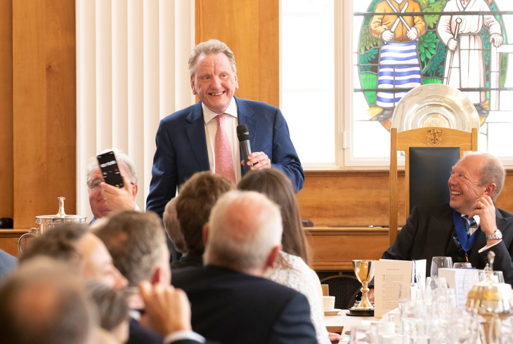 Ian Wright, CEO of the Food and Drink Federation at Butchers' Hall